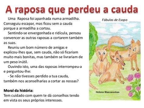 fabulas de esopo fabula esopo raposaperdeucauda 1 638 jpg 638 215 479 fabulas