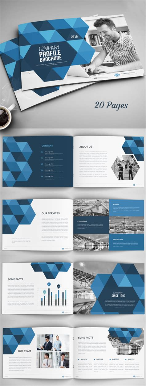 company page template new catalog brochure design templates design graphic
