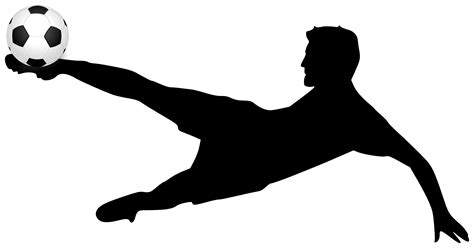 Silhouette Clip Free by Free Soccer Vector Free Clip Free Clip