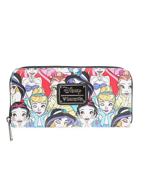 7 Accessories By Loungefly by Loungefly Disney Princesses Zip Wallet Topic