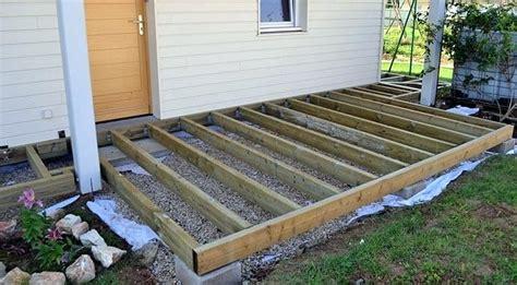 comment faire une terrasse en bois pas cher 2845 astuce pour faire une terrasse en bois pas cher design