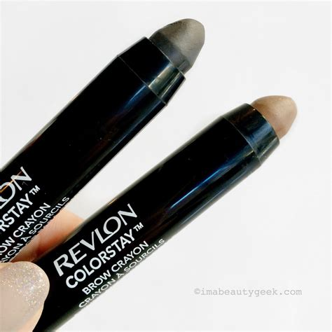 Revlon Brow new revlon colorstay brow pencils and crayons include soft