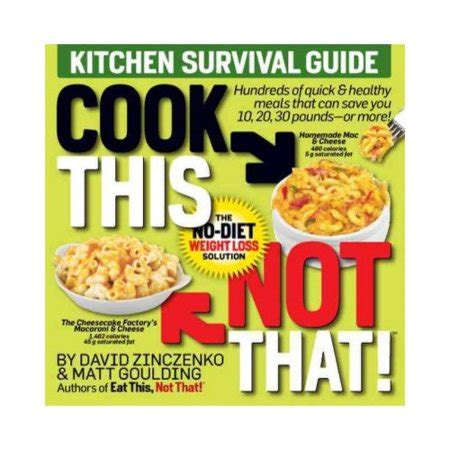 Kitchen Survival Guide cook this not that kitchen survival guide walmart