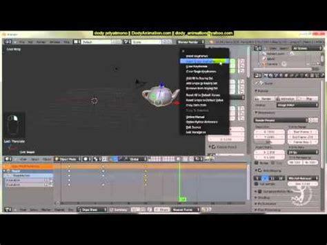 tutorial blender dasar tutorial blender bahasa indonesia dasar animasi dengan