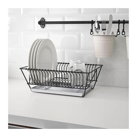ikea dish rack fintorp dish drainer black galvanised 37 5x29x13 5 cm ikea