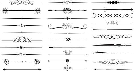 decorative line divider photoshop pin free decorative line divider clip art image search
