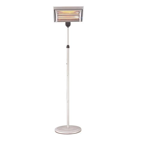 Free Standing Patio Heater Prem I Air Eh1224 2kw Quartz Free Standing Patio Heater