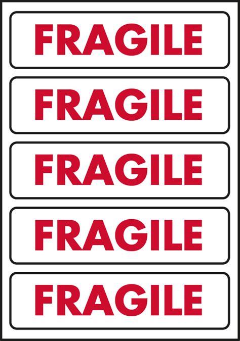 Label Sticker Pengiriman Fragile 5 fragile labels for your post