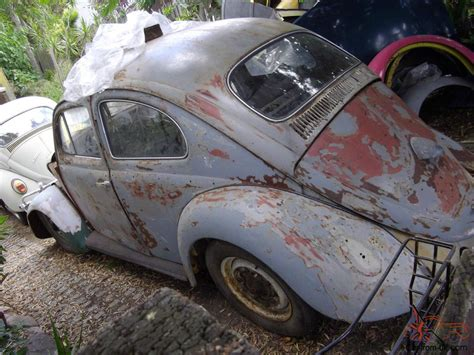 vw  volkswagen beetle hp engine great rat project  restoration  eagleby qld