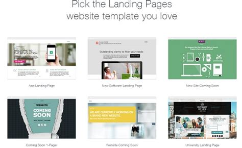 Wix Review 2016 Superbwebsitebuilders Com Wix Landing Page Templates