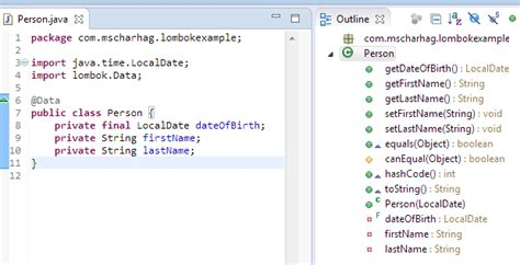 setter definition java reduce boilerplate code in your java applications with