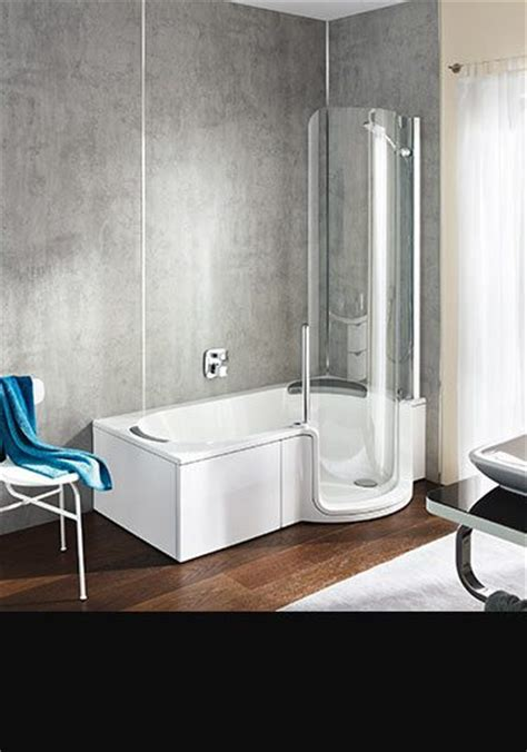 Space Saving Shower Baths stylish disabled baths and walk in baths by livinghouse