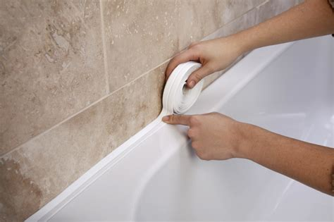 sealing a bathtub supadec bathroom sealing strip stax trade centres