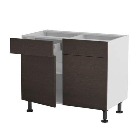 cucine basse meuble cuisine bas 100cm 2 tiroirs portes 50 70 achat