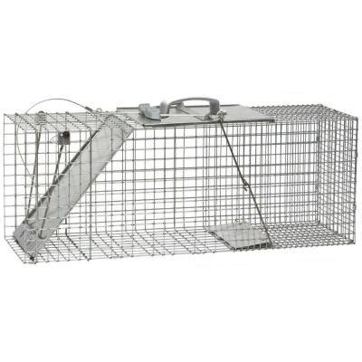 havahart large easy set live animal cage trap 1085 the