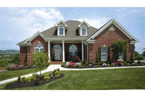 beautiful one story homes bright beautiful one story hwbdo62313 country from