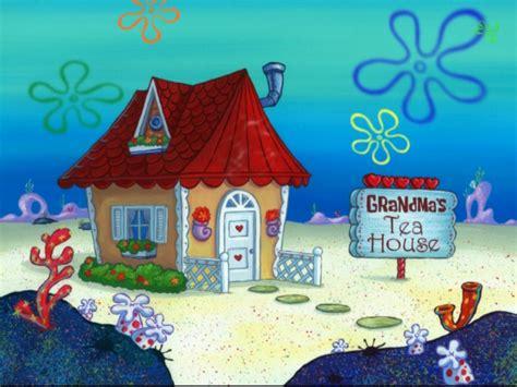 grandma house grandma s tea house encyclopedia spongebobia fandom powered by wikia
