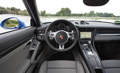 porsche 911 interior 2017 porsche 911 retain the classic shape mustcars com