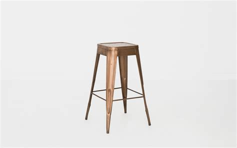 marais bar stool copper marais bar stool patina