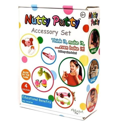 Set Nutty nutty putty accessory set creative gifts kits nutty