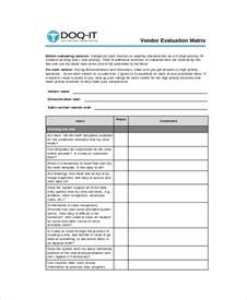 supplier performance evaluation template supplier performance evaluation images gallery