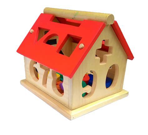 Mainan Kayu Azka Nobie Balok Bangun Besar 1 rumah angka besar mainan kayu edukasi anak