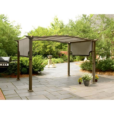 8 X 10 Patio Gazebo Garden Oasis Pergola Shop Your Way Shopping