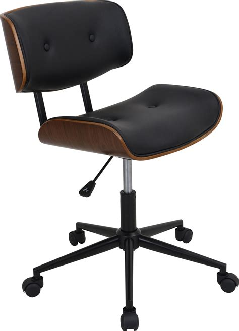 Adjustable High Desk Chair Lombardi Height Adjustable Office Chair With Swivel