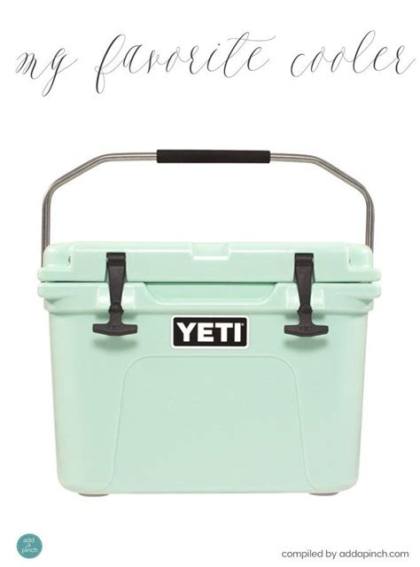 my favorite yeti cooler giveaway winner add a pinch - Yeti Cooler Giveaway