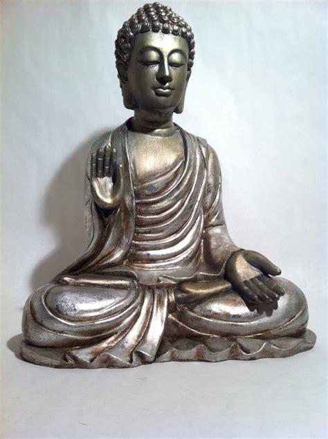 sleeping sitting buddha statue asian home decor zen sitting silver buddha statue asian meditating zen hindu