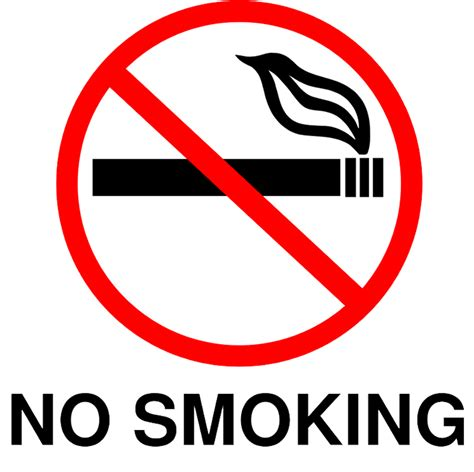 no smoking sign to download free no smoking sign printable clipart best