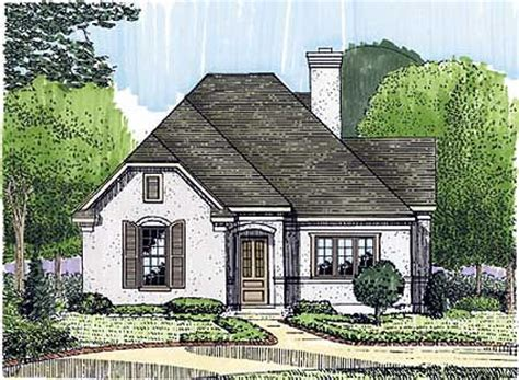 small french country cottage house plans intimate study