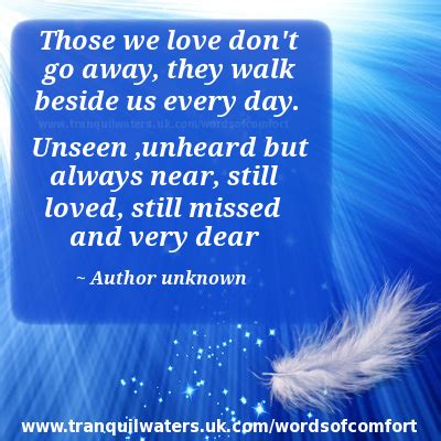 Words For Comforting A Loss Of Loved One by Comforting Poems For The Grief Quotes Comfort Words Of