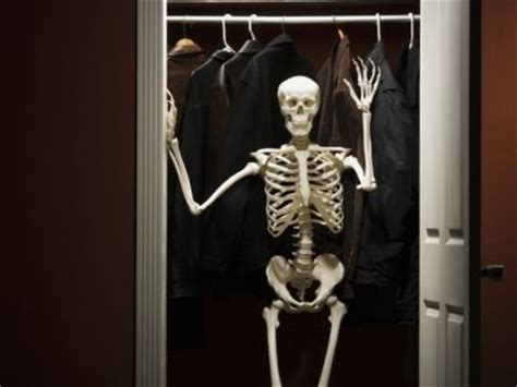 Skeleton Wardrobe skeletons in closets american culture explained