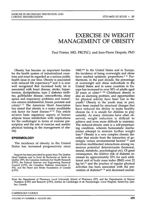 weight management and exercise exercise in weight management