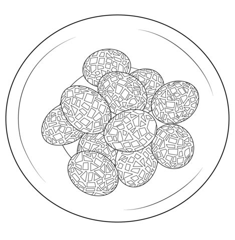 mosaic turkey coloring page mosaic eggs coloring page free printable coloring pages