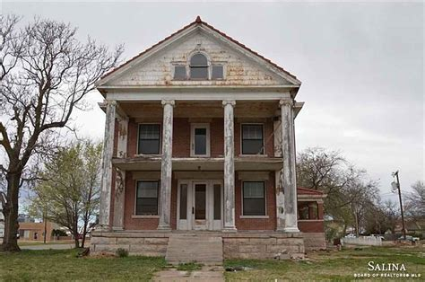 old mansions for sale cheap 1910 classical revival ellsworth ks house dreams