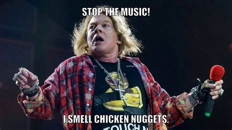 Axel Rose Meme - memes dedicated to fat axl rose youtube