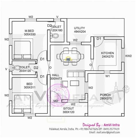 home design for 1000 sq ft in india 1000 sq ft house plans 3 bedroom indian house plan ideas