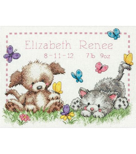 Winnie The Pooh Cross Stitch Birth Record 8 Best Images About Baby Cross Stitch On