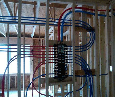 Pex Plumbing Systems by Pex With Many Fittings
