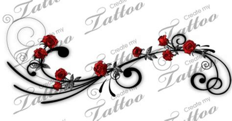 rose vine tattoos on side pictures of vines with roses be a vine side