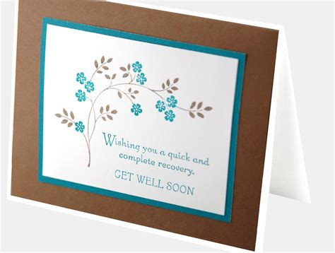 Handmade Get Well Soon Cards - handmade get well soon card sympathy card praying for you