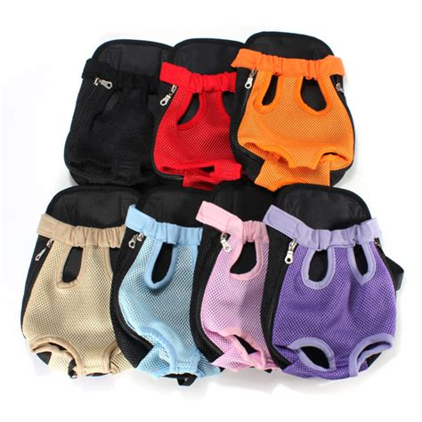 Pet Backpack S Intl pet puppy carrier backpack front tote bag net