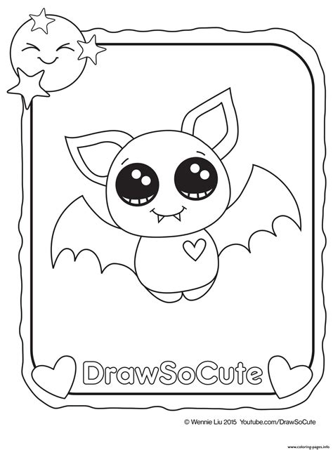 cute inside out coloring pages cute halloween bat coloring pages bourseauxkamas com