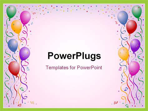 powerpoint templates birthday birthday templates free template
