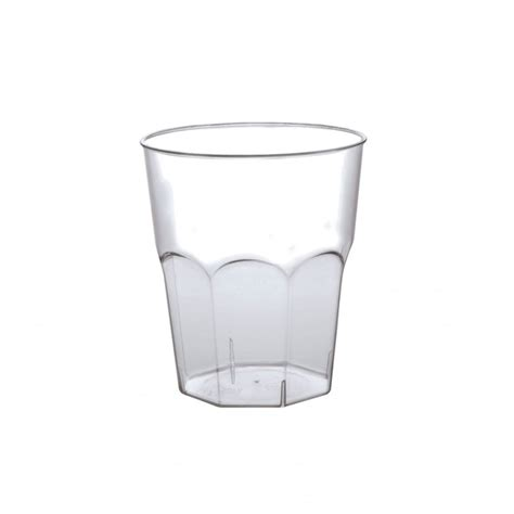 bicchieri plastica trasparente bicchiere plastica 270 cc infrangibile eurofides