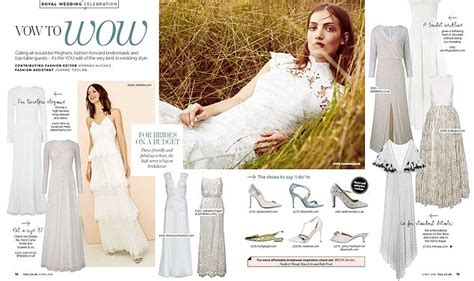 The Daily Mail Uk Fashion by Fashion Vow To Wow Daily Mail