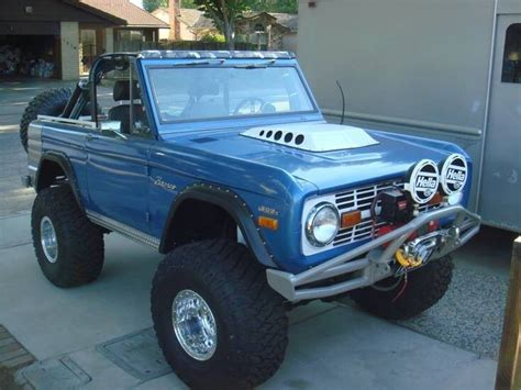 blue bronco car blue early bronco offroad pinterest early bronco