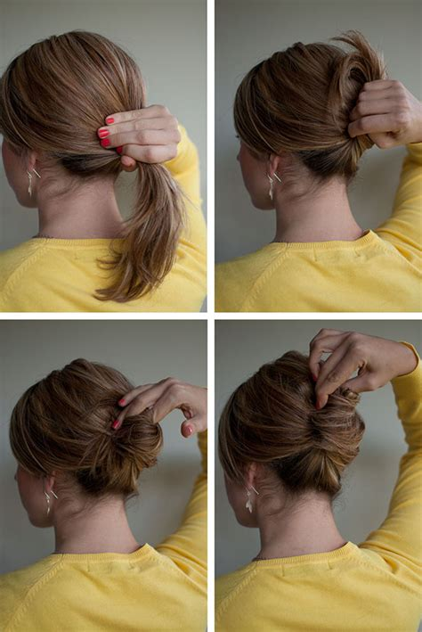hair in a french roll hairstyle how to easy french roll hair romance